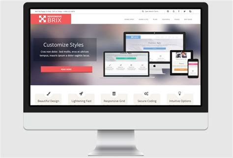 wordpress theme responsive layout responsive brix wordpress theme wphoot