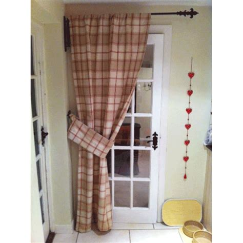 Front Door Curtain Rail Wrought Iron Portiere Swinging Door Pole 500 Sold To Date