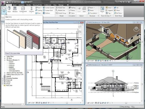 architect drawing software download revit architecture 2017 free