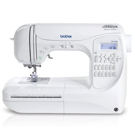 Brother Project Runway PC420PRW Sewing Machine ? Urban Buzz