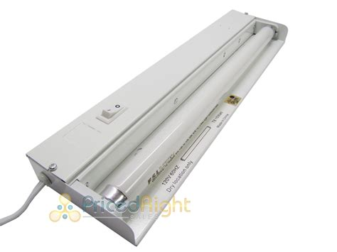 Fluorescent Light Kitchen Two 18 Quot Fluorescent Cabinet Counter Kitchen Bathroom Light Fixture T8 15w Ebay