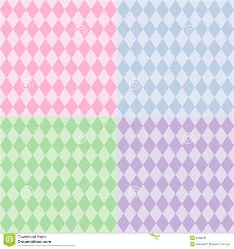 download pattern pastel harlequin seamless patterns pastels stock vector image