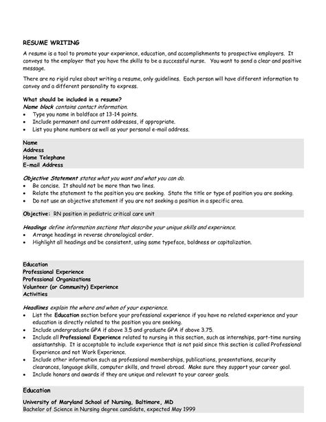 Powerful Objective Statements For Resumes by Sle Resume Profile Statements Objective Sle Resume Objective Statement Documents Pdf