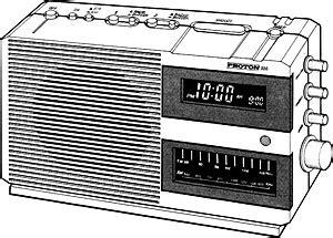 Proton Clock Radio by Proton 320 Manual Am Fm Radio Hifi Engine