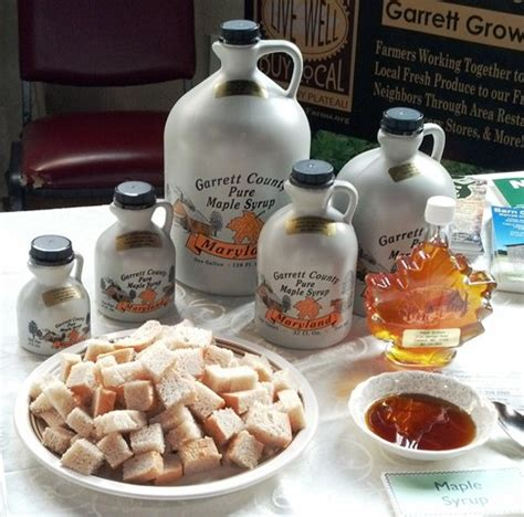 maryland maple syrup preservation maryland made in maryland local