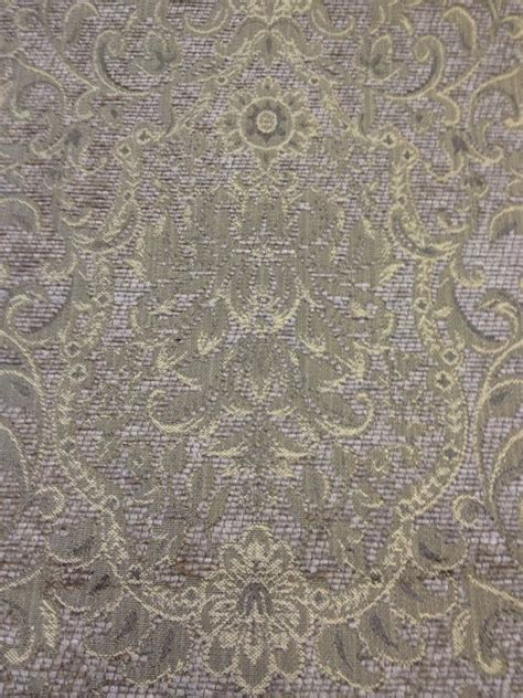 clarence house tapestry medallion taupe heavy weight