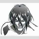Attack On Titan Eren Titan Form Face   736 x 626 jpeg 58kB