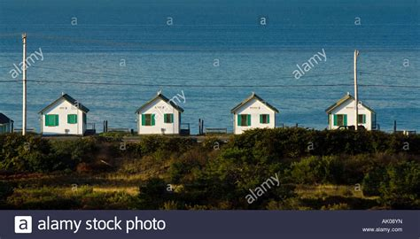 oceanfront cape cod rentals waterfront rental cottages truro cape cod ma stock photo