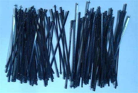 Mata Gergaji Scroll Saw 1 Set 12 Pcs Bentuk Kuping Atau Ujung jual scroll saw blades mata gergaji scroll saw di kab
