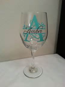 personalized wine glasses wedding