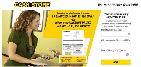 Store Surveys For Money - cash store survey guide happy customers review