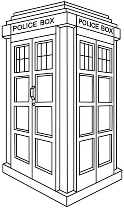 Coloring Pages Doctor Who More Images Of Doctor Coloring Tardis Coloring Page