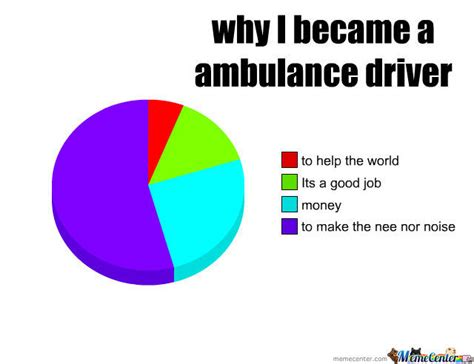 Ambulance Driver Meme - why i became an ambulance driver by stigster666 meme center