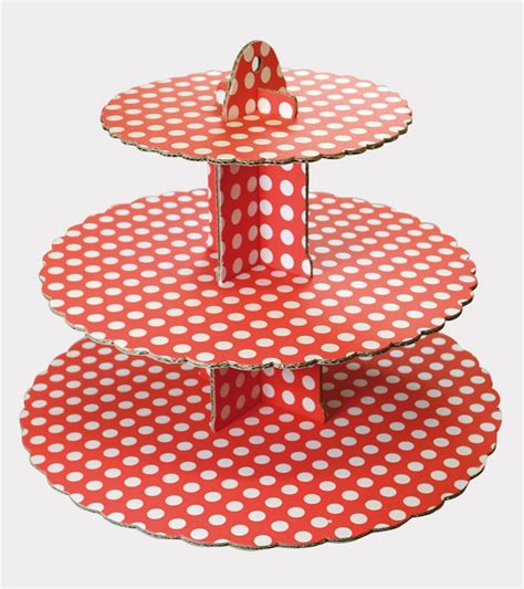 Etagere Rot by Culpitt Cupcake Etagere Muffinst 228 Nder Rot Punkte