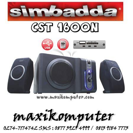 Speaker Simbadda Second speaker simbada cst1600n