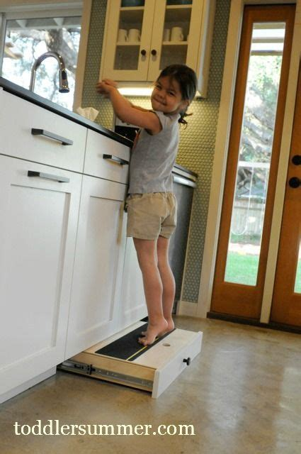 Cabinet Pull Out Step Stool by Pull Out Step Stool Genius Kitchen