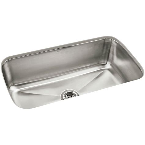 sterling stainless steel kitchen sinks sterling carthage undermount stainless steel 32 in single