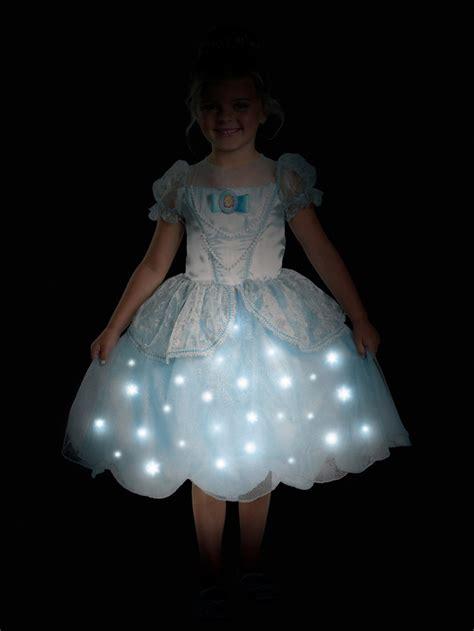 Cinderella Light Up Deluxe Girls Costume Light Up Costume