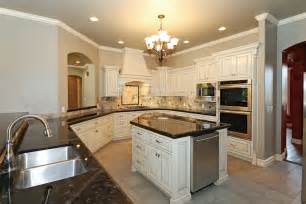 Types Of Backsplashes For Kitchen by Types Of Granite Kitchen Traditional With Subway Tile