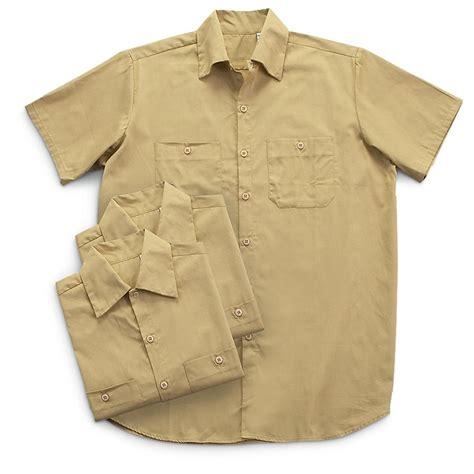 Garage Apparel 3 Pk Sleeved Garage Shirts 208804 Shirts At