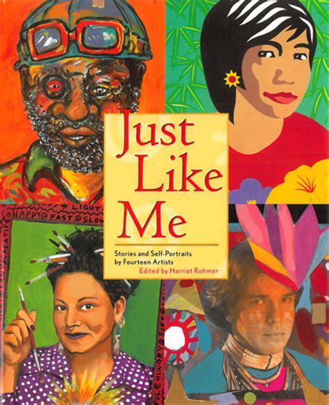 just like jackie books artists self portrait childhood identity diversity