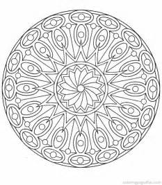 mandala coloring sheets free mandala coloring pages for adults az coloring pages