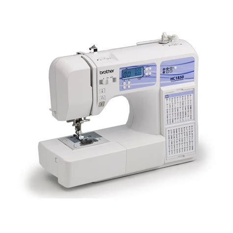 Best Sewing Machine For Quilting by Hc1850 Computerized Sewing And Quilting Machine With 130 Built In Stitches Best Sewing