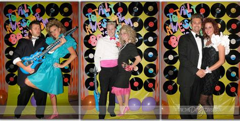 80s Theme Decorations by Totally Awesome 80 S Prom