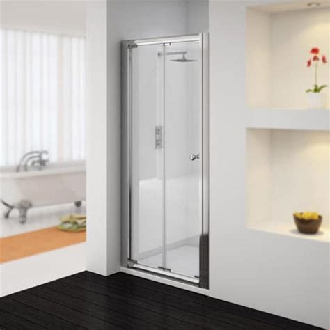 Shower Door Supplier Plumbing Ventura H1850mm X W800mm Bi Fold Folding Shower Door Supplier Cheap E Deals