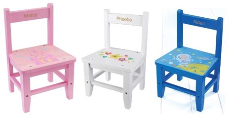 Childs Wooden Chair Personalised - personalised children s wooden chairs from 163 8 99 studio