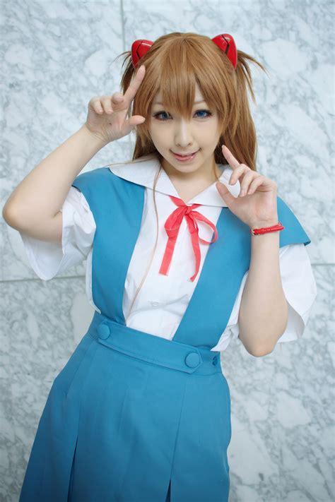 Asuka Blouse blouse hair pods jumper miiko neon genesis evangelion hair sailor school