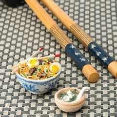 Link Mini Food by Miniature Noodles And Miso Soup Cut Out Keep Howldb