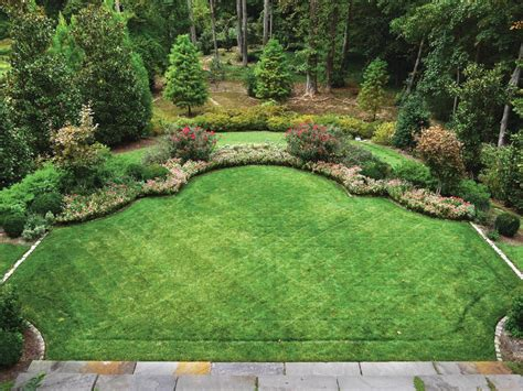 landscaping ideas for large backyards triyae big flat backyard ideas various design