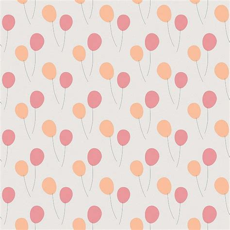 Green Home Design Plans papier peint enfant ballons rose orang 233 ma chambramoi
