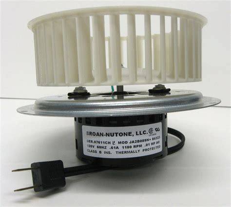 nutone bathroom exhaust fan motor replacement 0695b000 oem genuine nutone vent bath fan motor wheel for