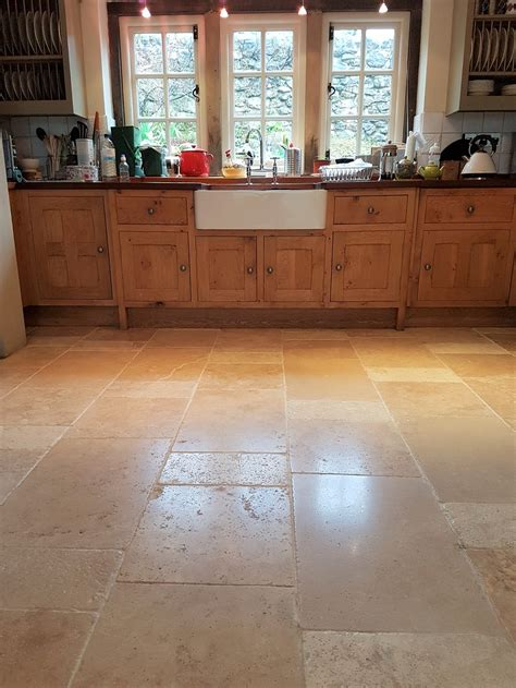 travertine kitchen floor cleaning cleaning and polishing tips for travertine floors
