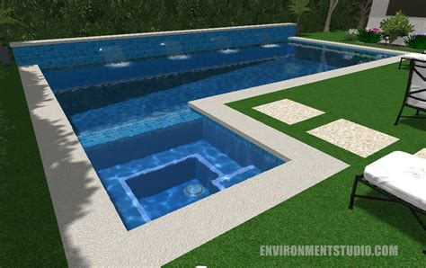 pool layouts modern pools modern pool spa by designrevolver