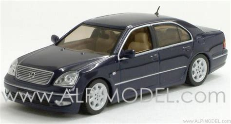 navy blue lexus j collection lexus ls430 navy blue metallic 1 43 scale