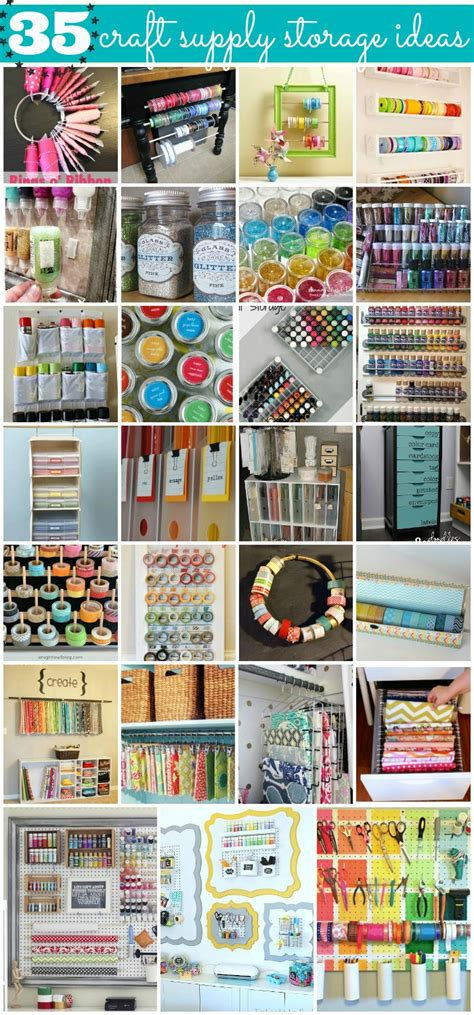 storage solutions for craft rooms 35 crafty craft storage solutions