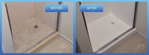 Shower Tile Resurfacing by Miami Bathtubs