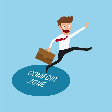 comfort zon execunet how to act outside your comfort zone to achieve