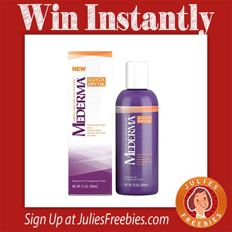 Mederma Instant Win - mederma there she glows instant win game julie s freebies