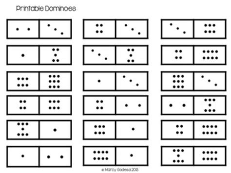 printable domino cards printable dominos and addition template by searching for