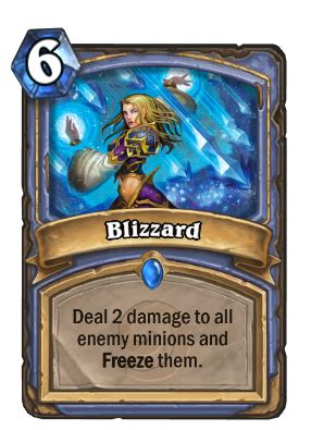 blizzard of agressive blizzard hearthstone