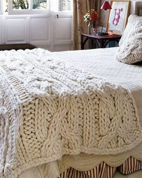 knitting a large blanket chunky cable knit blanket a place to rest