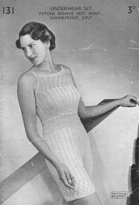 vintage knickers pattern fabulous forties fashions vintage swimwear knitting patterns