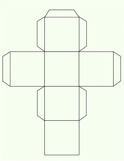 Printable Rectangle Square Cube Box Maker Template Box Template Generator