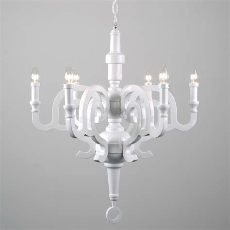 Chandelier Inspiring White Wood Chandelier Exciting White Wooden Chandelier