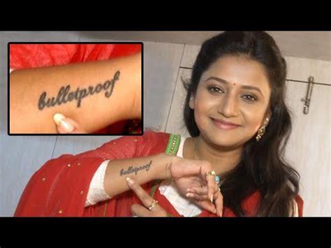 jui gadkari aka kalyani flaunts her new bulletproof tattoo