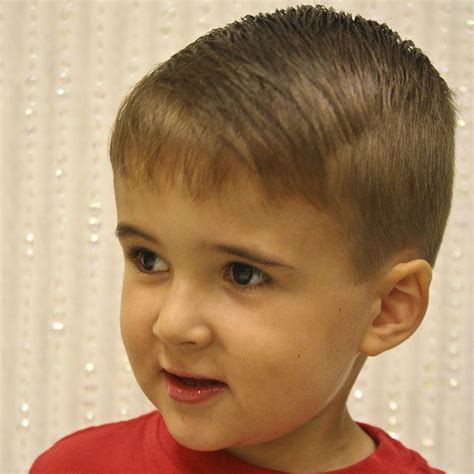 fine hair and boys toddler boy haircuts thin hair haircut trends